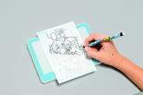 『ちゃお』4月号(小学館)のふろく「究極まんが家セット」のライトボックスとコミックペン