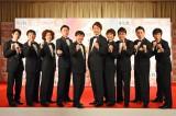 『第50回上方漫才大賞』奨励賞にノミネートした(左から)オジンオズボーン、学天即、かまいたち、銀シャリ、藤崎マーケット