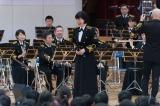 海上自衛隊東京音楽隊・三宅由佳莉が小学校でコンサートを開催
