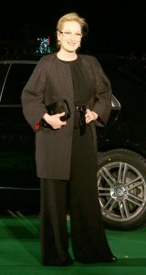 ミュージカル映画最新作『イントゥ・ザ・ウッズ』のジャパンプレミアイベントに出席したメリル・ストリープ (C)ORICON NewS inc.
