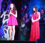 ミュージカル映画最新作『イントゥ・ザ・ウッズ』のジャパンプレミアイベントに出席した(左から)リラ・クロフォード 、神田沙也加 (C)ORICON NewS inc.