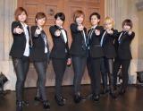 デビュー曲発売記念イベントを開催したTHE HOOPER(左から)陽稀、星波、麻琴、未来、佑妃、泉貴、つばさ) (C)ORICON NewS inc.