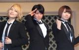 デビュー曲発売記念イベントを開催したTHE HOOPER(左から)泉貴、麻琴、つばさ (C)ORICON NewS inc.