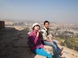 登頂からの景色は絶景(C)TBS