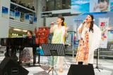 『サンゴの日記念 沖縄まつり in サンシャインシティ』オープニングセレモニーで「いのちのリレー」を披露したさんご