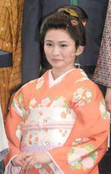 舞台『最後のサムライ』の記者会見に出席した岡本玲 (C)ORICON NewS inc.
