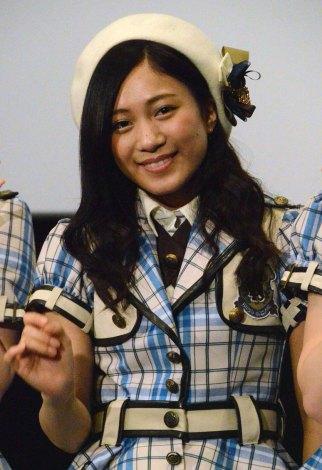 映画『アイドルの涙 DOCUMENTARY of SKE48』大ヒット御礼裏トークショーに出席した斉藤真木子 (C)ORICON NewS inc.