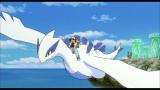 『ポケモン・ザ・ムービーXY「光輪(リング)の超魔神 フーパ』(7月18日公開)より。【ルギア】「幻のポケモンルギア爆誕」(1999年)に登場。「海の神」と呼ばれるポケモン