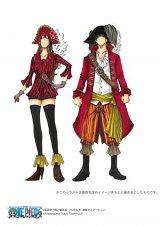 『ONE PIECE』原作者・尾田栄一郎氏のイメージを基に描き起こしたイラスト(海賊衣装)