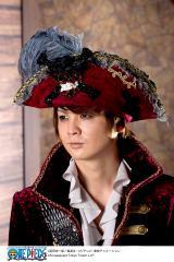『東京ワンピースタワー』(13日開業)の男性クルー衣装(海賊版)