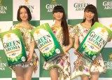 Perfume(左から)のっち、かしゆか、あ〜ちゃん (C)ORICON NewS inc.