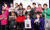 CDショップ店員と大賞のBABYMETALが記念撮影〜『第7回CDショップ大賞2015授賞式』より