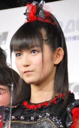 『第7回CDショップ大賞2015授賞式』で大賞を受賞したBABYMETALのSU-METAL (C)ORICON NewS inc.