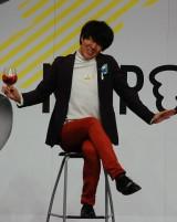 早稲田大学お笑い工房 LUDOの幹事長ヨシヒロ=『NOROSHI2015』の模様 (C)ORICON NewS inc.