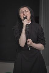国内初イベントを開催したシスター・クリスティーナ 撮影:森リョータ