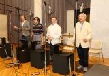 結成60周年記念シングル「生きるものの歌」のレコーディングの模様
