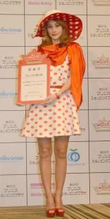 『軽井沢・プリンスショッピングプラザ20周年記念アンバサダー』就任式に出席したダレノガレ明美 (C)ORICON NewS inc.
