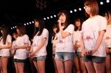 2015年3月11日 AKB48劇場で行われた復興支援特別公演の模様(C)AKS