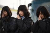 2015年3月11日 岩手県宮古市を訪れたAKB48の黙祷の模様(C)AKS