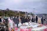 2015年3月11日 宮城県石巻市を訪れたAKB48(C)AKS