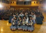 2015年3月11日 岩手県宮古市を訪問したAKB48(C)AKS