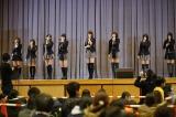 2015年3月11日 宮城県南三陸町で行われたAKB48のライブ(C)AKS