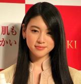 資生堂『一新、TSUBAKI』新CM発表会に出席した三吉彩花 (C)ORICON NewS inc.