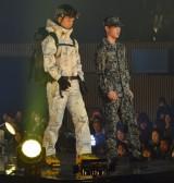 史上初となるファッションショーのランウェイウォーキングを行った自衛官 (C)ORICON NewS inc.