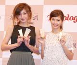 (左から)西山茉希、安田美沙子 (C)ORICON NewS inc.
