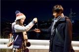 主人公・中村彩美役の杉咲花と、同級生・宮原和哉役の小関裕太による胸キュンシーン