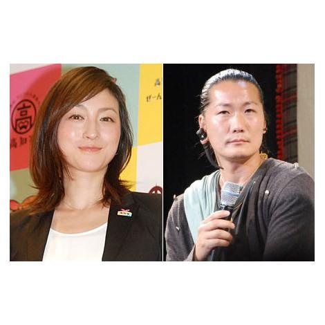 サムネイル 第3子妊娠を発表した広末涼子(写真左)と夫のCandle JUNE氏(写真右) (C)ORICON NewS inc.