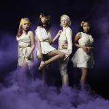 4人組となった女王蜂新ビジュアル(左から2人目がアヴちゃん)