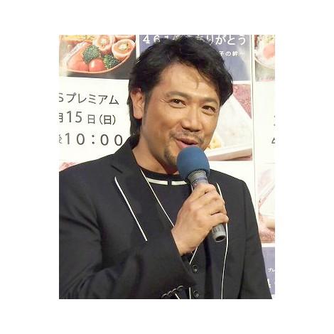 NHK・BSプレミアムドキュメンタリードラマ『461個の弁当は、親父と息子の男の約束』試写会に出席した別所哲也 (C)ORICON NewS inc.