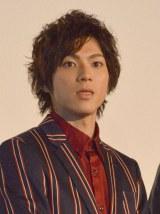 映画『ストロボ・エッジ』初日上映後舞台あいさつに出席した山田裕貴 (C)ORICON NewS inc.