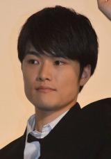 映画『ストロボ・エッジ』初日上映後舞台あいさつに出席した入江甚儀 (C)ORICON NewS inc.