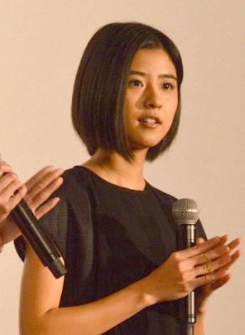 映画『ストロボ・エッジ』初日上映後舞台あいさつに出席した黒島結菜 (C)ORICON NewS inc.