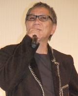 映画『風に立つライオン』初日舞台あいさつに出席した三池崇史監督 (C)ORICON NewS inc.