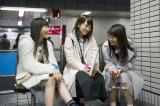 日本テレビ『AKB48 旅少女』(毎週土曜 深0:55※関東ローカル)で本音トークを展開する(左から)西野未姫、川栄李奈、木崎ゆりあ