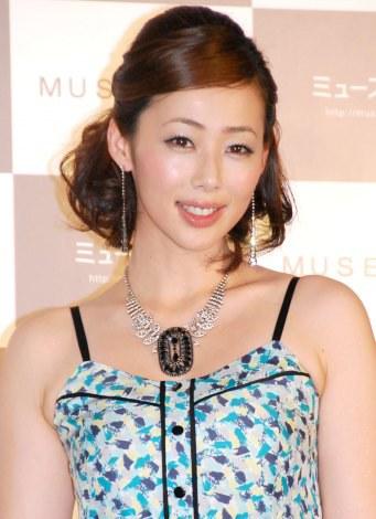 サムネイル ブログでふっくらお腹を公開した井上和香 (C)ORICON NewS inc.