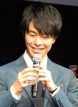 ウイスキー「響」ブランドの新商品『響 JAPANESE HARMONY』プレス発表会に出席した長谷川博己 (C)ORICON NewS inc.