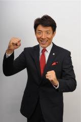 4月4日深夜スタート、テレビ朝日系『TOKYO応援宣言』応援ナビゲーターの松岡修造(C)テレビ朝日