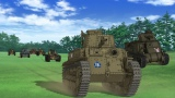 場面カットを公開(C)GIRLS und PANZER Film Projekt