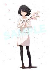「AnimeJapan 2015」で販売される前売り券に付くオリジナルポスター 描かれているのは主人公 (C)KOKOSAKE PROJECT