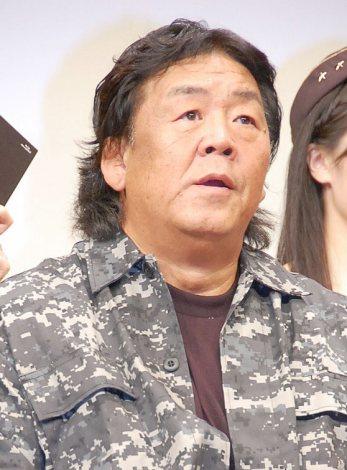 映画『エクスペンダブルズ3 ワールドミッション』Blu-ray&DVD発売記念記者発表会に出席した長州力 (C)ORICON NewS inc.