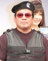 映画『エクスペンダブルズ3 ワールドミッション』Blu-ray&DVD発売記念記者発表会に出席した藤波辰爾 (C)ORICON NewS inc.