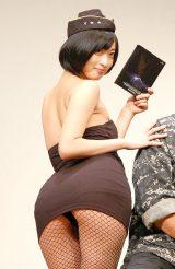 映画『エクスペンダブルズ3 ワールドミッション』Blu-ray&DVD発売記念記者発表会に出席した倉持由香 (C)ORICON NewS inc.