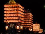 放生津八幡宮の例大祭として行われる新湊曳山祭り