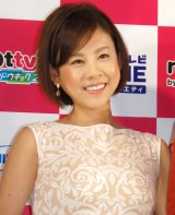 『NOTTVサービス発表会2015』に出席した高橋真麻 (C)ORICON NewS inc.
