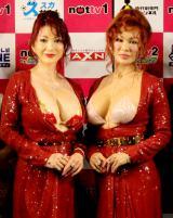 叶姉妹(左から)叶美香、叶恭子(C)oricon ME inc.