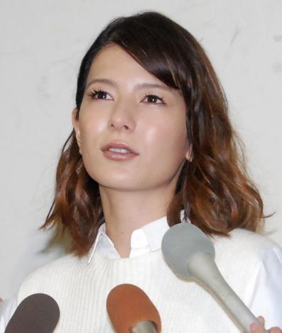 サムネイル 離婚会見を行ったスザンヌ (C)ORICON NewS inc.